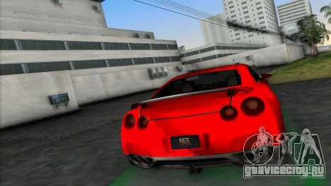 Nissan GT-R Prototype для GTA Vice City вид слева