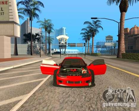 Slivia Red Planet для GTA San Andreas вид сзади