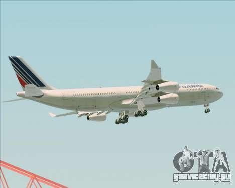 Airbus A340-313 Air France (Old Livery) для GTA San Andreas салон