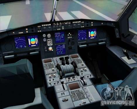 Airbus A330-300 Lufthansa для GTA San Andreas салон