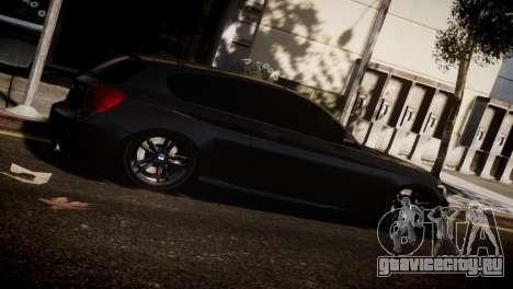 BMW 135i для GTA 4 вид справа