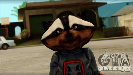 Guardians of the Galaxy Rocket Raccoon v1 для GTA San Andreas третий скриншот