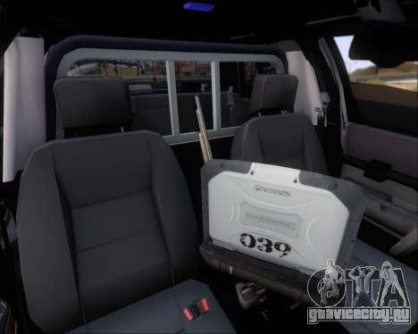 Ford Crown Victoria Tallmadge Battalion Chief 2 для GTA San Andreas колёса