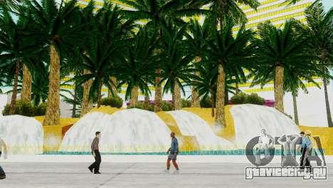 Новые текстуры казино Visage в Лас Вентурасе для GTA San Andreas третий скриншот
