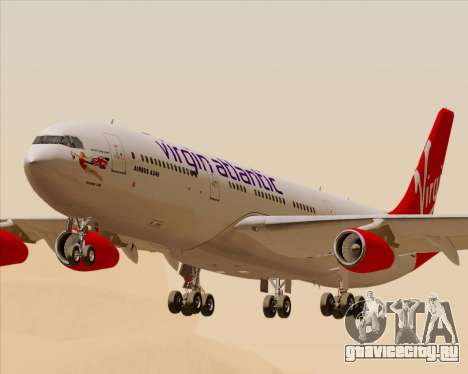 Airbus A340-313 Virgin Atlantic Airways для GTA San Andreas