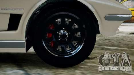 GTA 5 Coquette Classic для GTA 4 вид сзади слева
