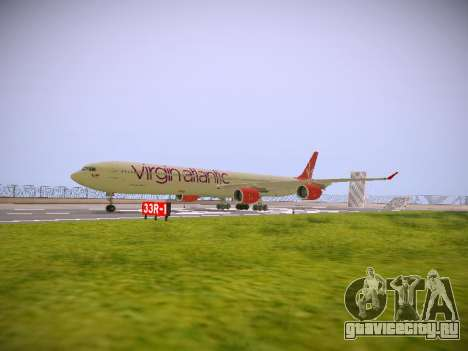 Airbus A340-600 Virgin Atlantic New Livery для GTA San Andreas