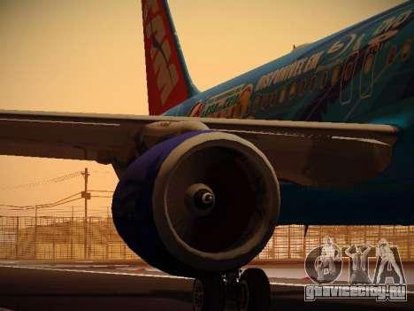 Airbus A320-214 TAM Airlines RIO для GTA San Andreas двигатель
