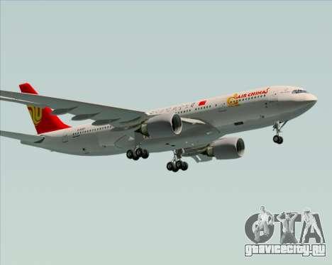 Airbus A330-200 Air China для GTA San Andreas двигатель