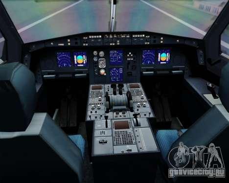 Airbus A340-313 Lufthansa для GTA San Andreas салон