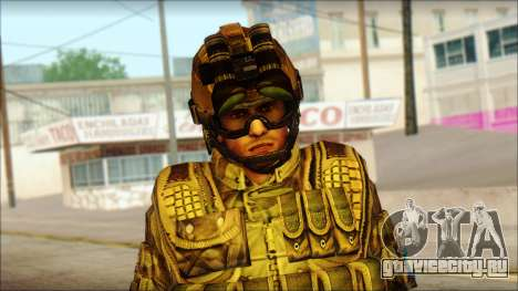 Солдат ЕС (AVA) v3 для GTA San Andreas третий скриншот