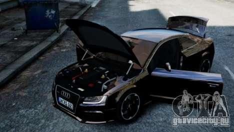 Audi RS5 2011 для GTA 4 вид справа