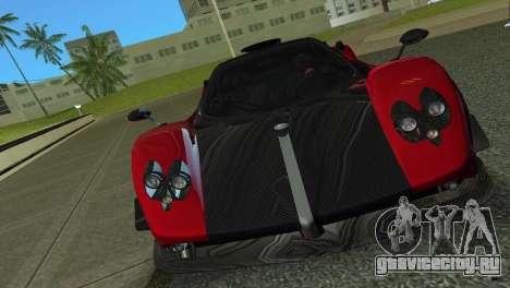 Pagani Zonda Cinque для GTA Vice City вид слева