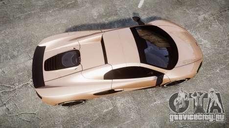 McLaren 650S Spider 2014 [EPM] Pirelli v1 для GTA 4 вид справа