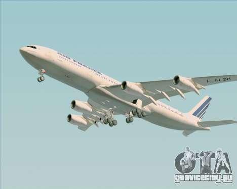 Airbus A340-313 Air France (Old Livery) для GTA San Andreas вид сбоку