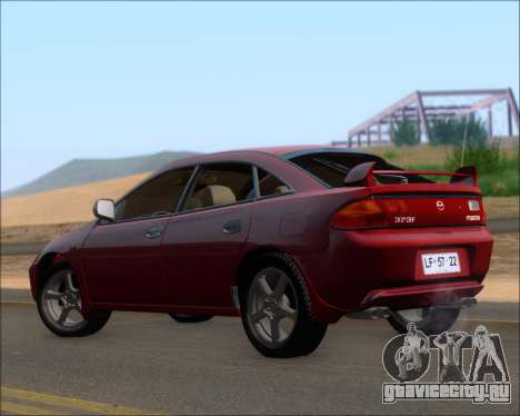 Mazda 323F 1995 для GTA San Andreas вид справа