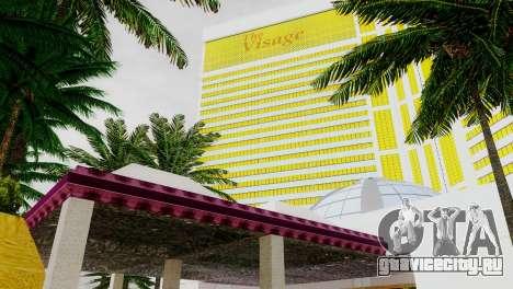 Новые текстуры казино Visage в Лас Вентурасе для GTA San Andreas шестой скриншот