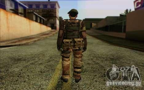 Солдат МЕК (Battlefield 2) Skin 5 для GTA San Andreas второй скриншот