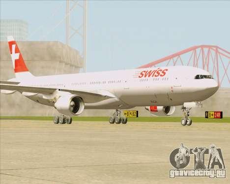 Airbus A330-300 Swiss International Air Lines для GTA San Andreas вид слева