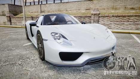 Porsche 918 Spyder 2015 для GTA 4