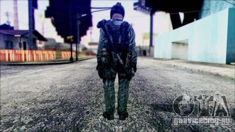 Боец (PLA) v4 для GTA San Andreas второй скриншот