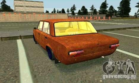 ВАЗ 2101 Rat-look для GTA San Andreas вид сзади слева