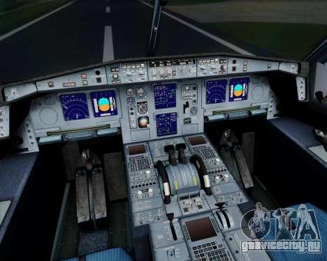 Airbus A340-313 Air France (Old Livery) для GTA San Andreas вид сверху