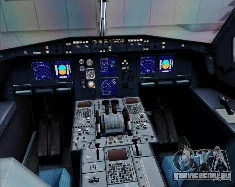 Airbus A330-300 Qantas для GTA San Andreas салон