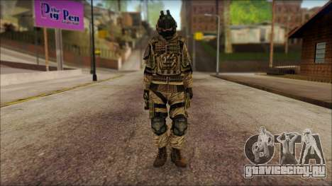 Солдат ЕС (AVA) v2 для GTA San Andreas