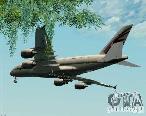 Airbus A380-861 Qatar Airways для GTA San Andreas