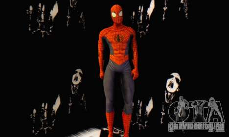 Skin The Amazing Spider Man 2 - Suit Edge Of Tim для GTA San Andreas третий скриншот