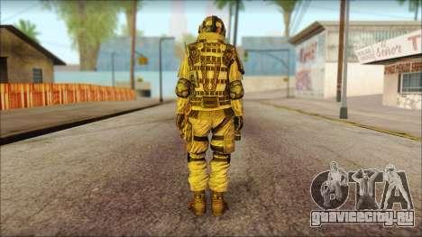 Солдат ЕС (AVA) v2 для GTA San Andreas второй скриншот