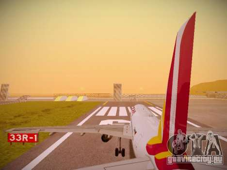 Airbus A319-132 Germanwings для GTA San Andreas двигатель