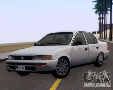 Toyota Corolla 1.6 для GTA San Andreas