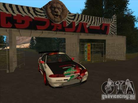 Nissan Skyline R32 Badass для GTA San Andreas вид слева