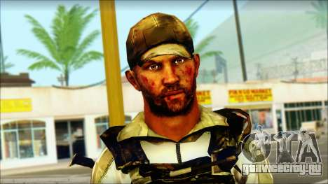 Taliban Resurrection Skin from COD 5 для GTA San Andreas третий скриншот