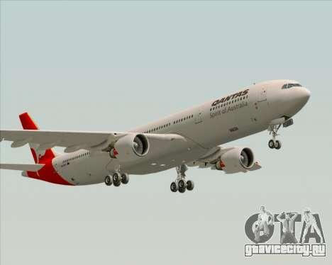 Airbus A330-300 Qantas для GTA San Andreas вид сбоку