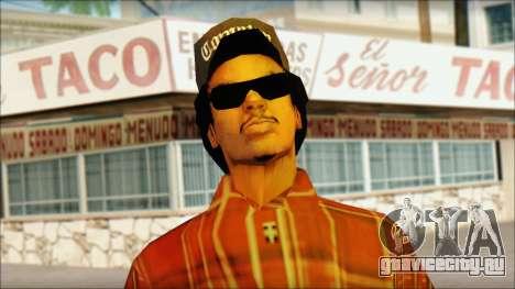 Eazy-E Red Skin v1 для GTA San Andreas третий скриншот