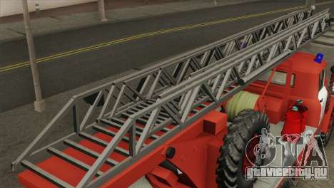 ЗиЛ 131 - АЛ30 для GTA San Andreas вид сзади слева