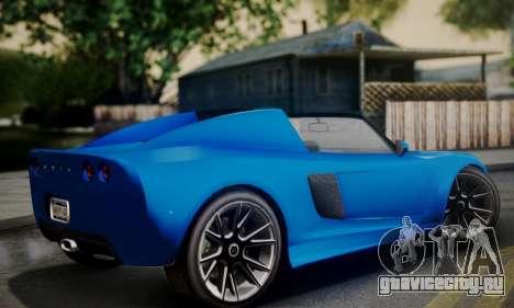 Voltic from GTA 5 для GTA San Andreas вид слева