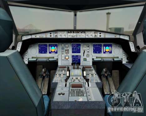 Airbus A330-300 China Southern Airlines для GTA San Andreas салон