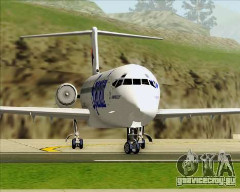 McDonnell Douglas MD-82 Spanair для GTA San Andreas вид снизу