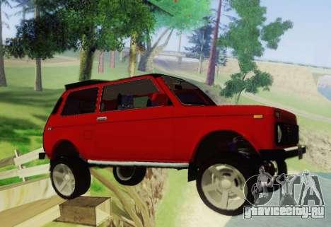 LADA-212180 Fora для GTA San Andreas вид сзади
