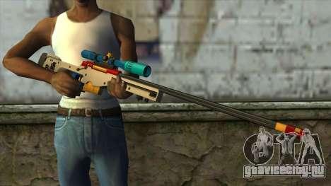 Sniper Rifle from PointBlank v4 для GTA San Andreas третий скриншот