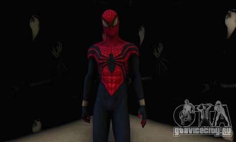 Skin The Amazing Spider Man 2 - Suit Ben Reily для GTA San Andreas пятый скриншот