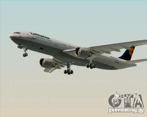 Airbus A330-300 Lufthansa для GTA San Andreas двигатель
