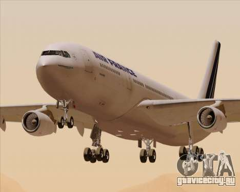 Airbus A340-313 Air France (Old Livery) для GTA San Andreas