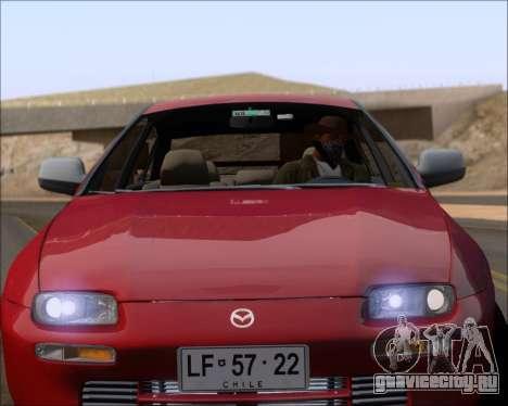 Mazda 323F 1995 для GTA San Andreas вид сверху