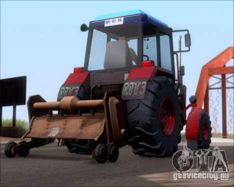 МТЗ-80 для GTA San Andreas двигатель