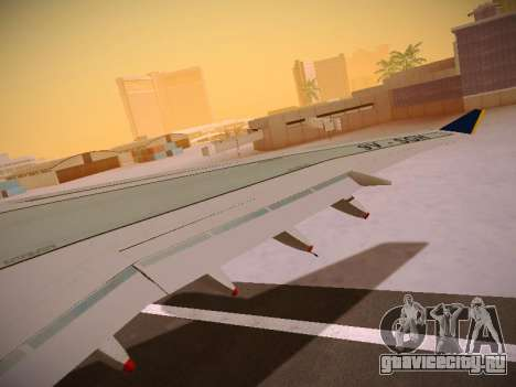 Airbus A340-600 Singapore Airlines для GTA San Andreas колёса